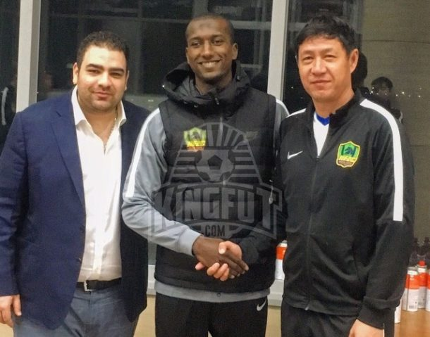Aly Ghazal makes his debut in Guizhou Zhicheng FA Cup defeat