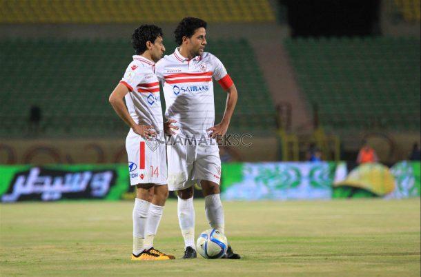 Zamalek lose Entag