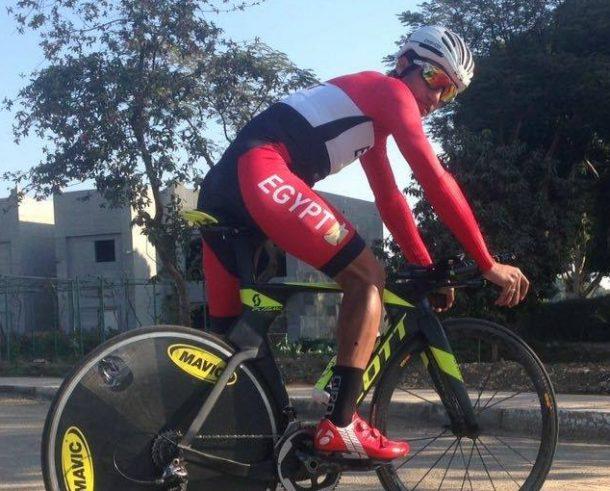 Islam Nasser cyclist Egypt