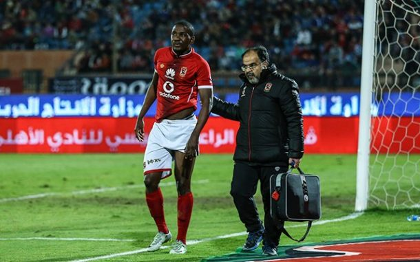 Al Ahly reveal extent of Ghaly and Ajayi injuries