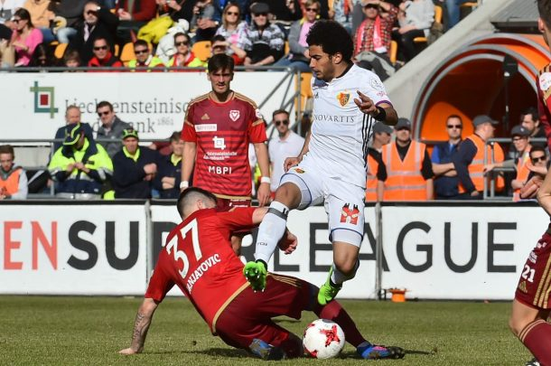 VIDEO: Omar Gaber assists in Basel league draw