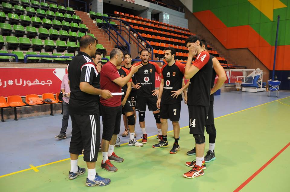 Volleyball Al Ahly & Tala'a El-Gaish