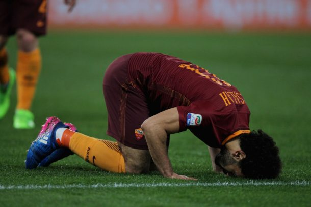Mohamed Salah named Roma's Player of the Month for April