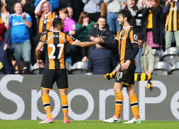 Ahmed Elmohamady features in Hull City's late win
