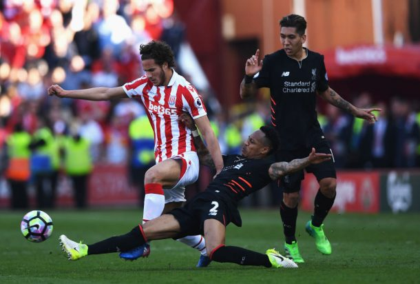 Sobhi features as Stoke suffer a 2-1 home defeat to Liverpool
