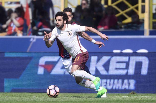 Mohamed Salah scores again as Roma win 3-0 at Bologna
