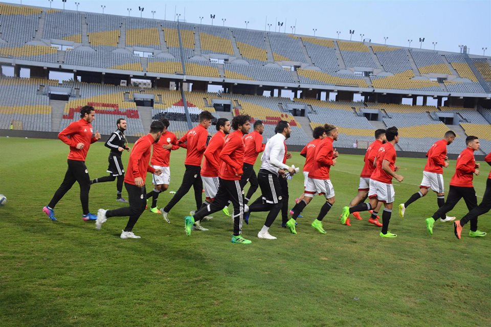 Egypt National Team Pharaohs abroad
