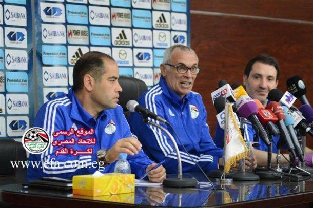 Egypt National Team camp for Tunisia