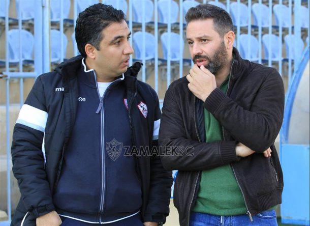 Hazem Emam on Nabil Maaloul