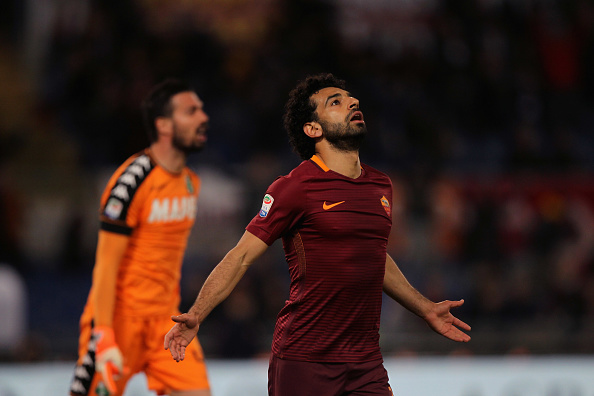 Salah shortlisted for AS Roma's player of the season award