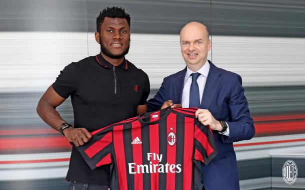 AC Milan sign Franck Kessie from Atalanta BC