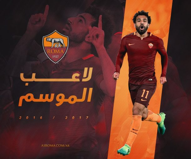 Salah named AS Roma's player of the season by Arab supporters