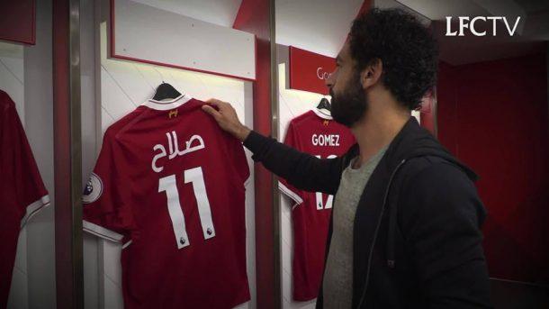 Wijnaldum heaps praise on new boy Mohamed Salah