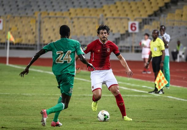 Al Ahly players in CAF Champions League team of the round