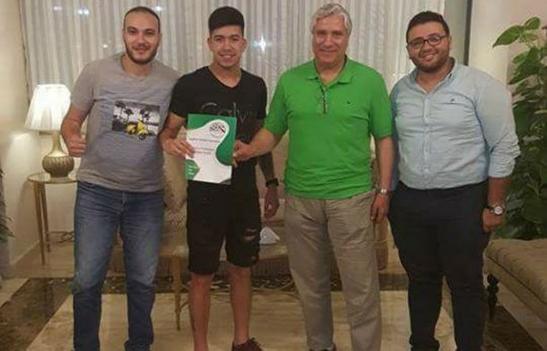 OFFICIAL: ENPPI sign Palestine international Jonathan Cantillana