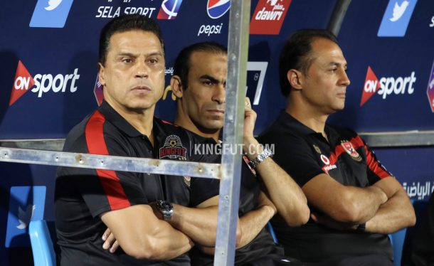 Hossam El-Badry hails his players after winning Egyptian Premier League