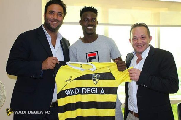 Wadi Degla announce signings of Ouattara and Rudy Manga