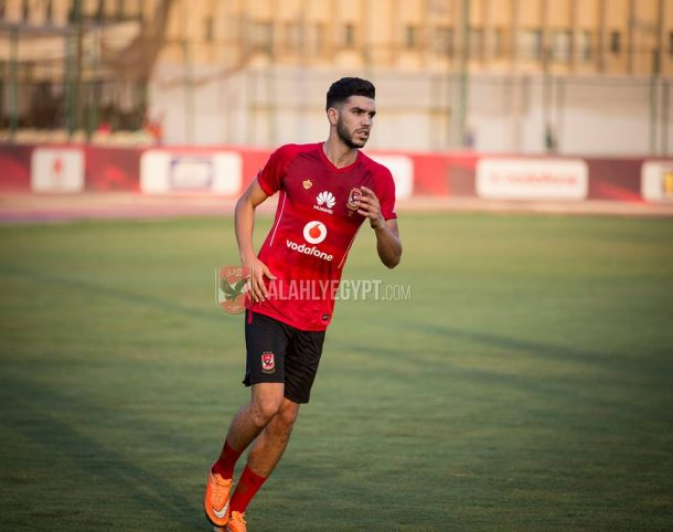 Walid Azarou speaks after his first training session with Ahly