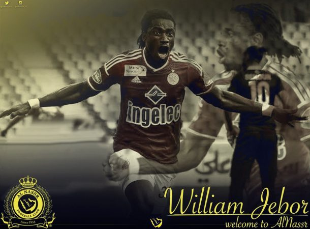 OFFICIAL: William Jebor completes move to Al Nassr