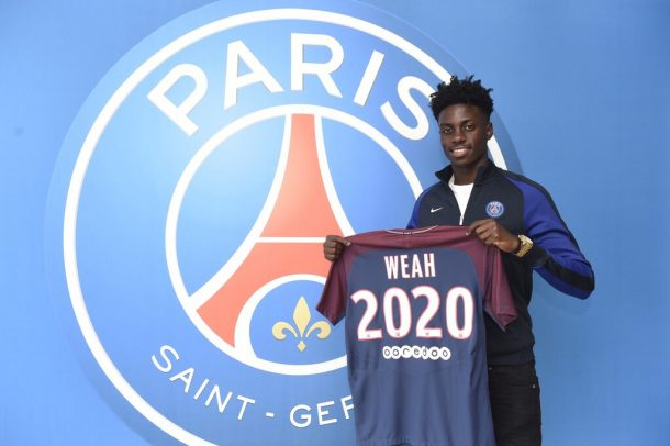 Timothy Weah signs first professional contract with PSG