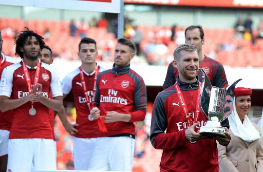 Elneny plays full 90 minutes as Arsenal win Community Shield