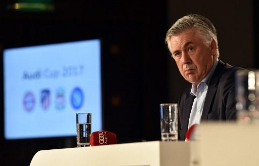 Carlo Ancelotti thinks Salah's departure will affect Roma