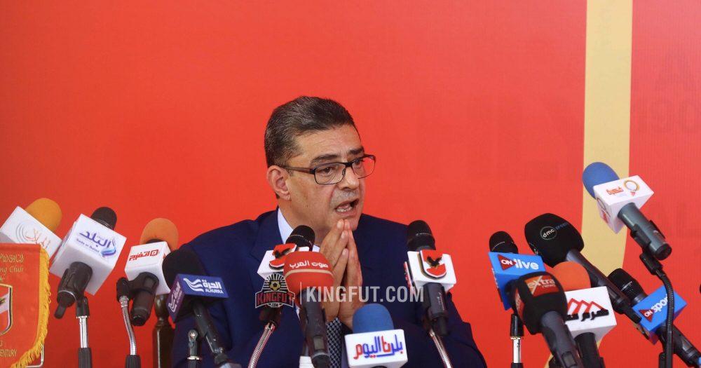 Al Ahly chairman Mahmoud Taher