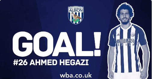 Hegazi scores on dream debut as West Brom defeat Bournemouth