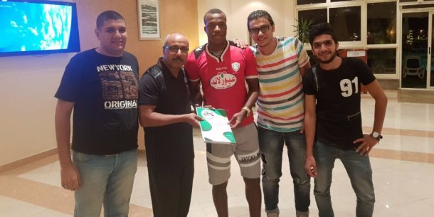 Camaldine Abraw terminates El-Geish contract a week after joining the club