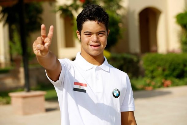 Egyptian with Down Syndrome aims to make history by crossing English Channel