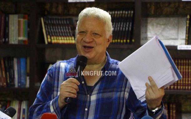 Zamalek chairman Mortada Mansour