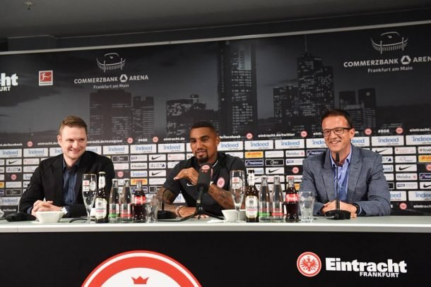 Kevin Prince Boateng signs three year deal with Eintracht Frankfurt