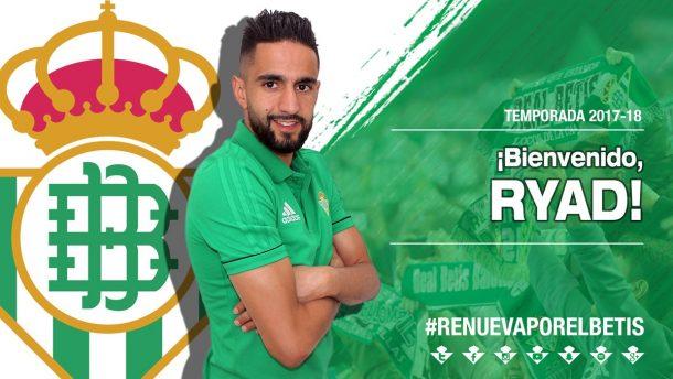OFFICIAL: Algeria international Boudebouz joins Real Betis