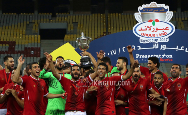 VIDEO: Ahmed Fathi dramatic late goal seals unbeaten domestic double