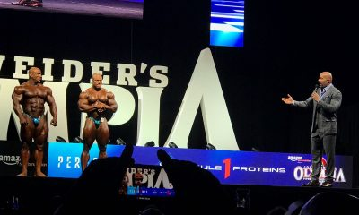 Big Ramy second in Mr. Olympia