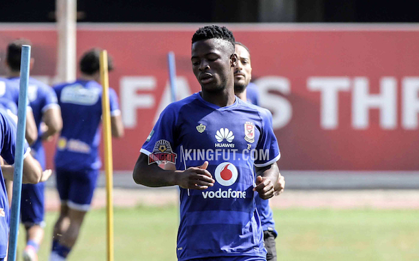 Henry sends a message to Al Ahly's Phakamani