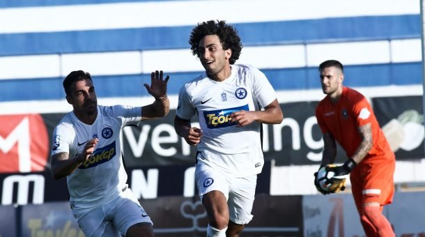 Amr Warda scores for Atromitos against