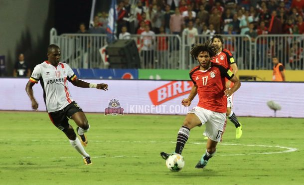 Elneny should be fit for World Cup with Egypt, Wenger says