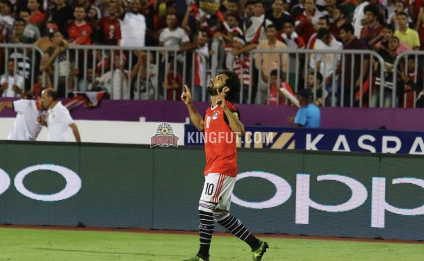 Egypt down Uganda to go top of World Cup qualifying group