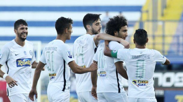 VIDEO: Amr Warda assists winning goal as Atromitos beat Olympiacos