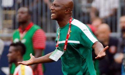 James Kwesi Appiah, head coach of Ghana