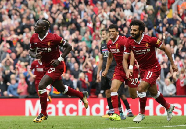 Roberto Firmino enjoying playing alongside Sadio Mané and Mo Salah