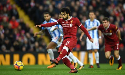 Salah takes penalty