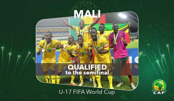Mali edge Ghana, reach U-17 World Cup semi-finals