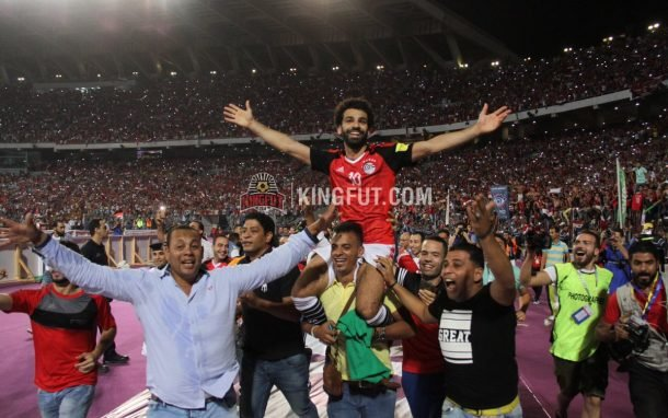 Mohamed Salah guid Egypt to World Cup
