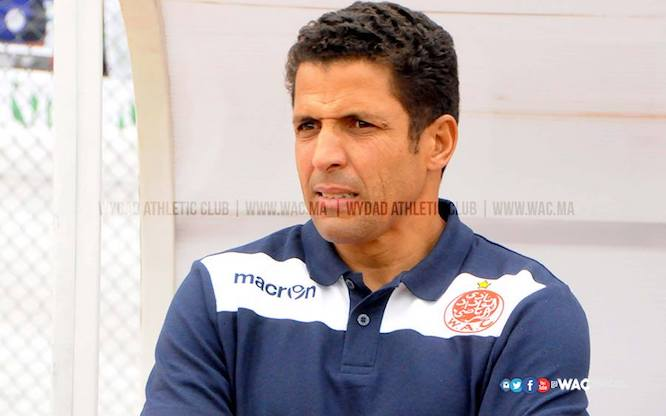 Wydad coach Houcine Ammouta