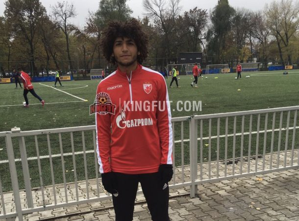amr nasser trial at Red Star Belgrade