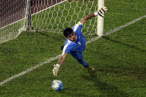 Syria goalkeeper Ibrahim Alma Al Ahly Zamalek