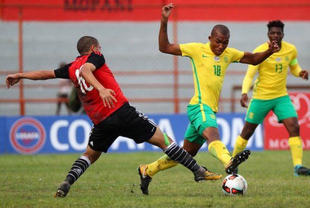 South Africa beat Egypt, qualify for COSAFA U-20 semi-finals
