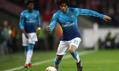 Arsenal Elneny Europa League
